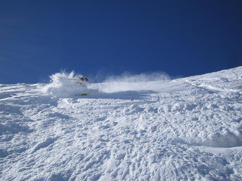 More Higlands powder