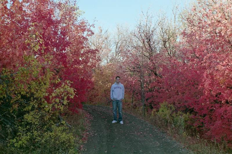 Me up Logan Canyon in the Fall