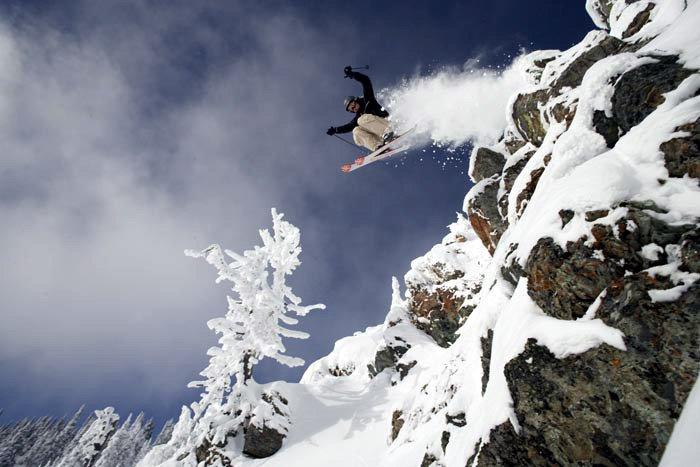 Cliff drop early season