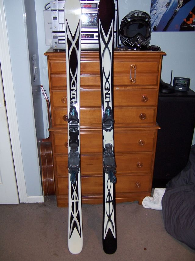 my painted skis