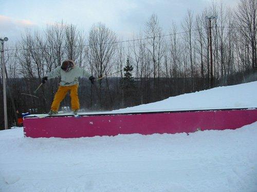 First rail of the season
