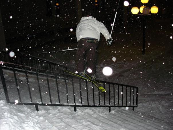 CU duane rail in the snowstorm