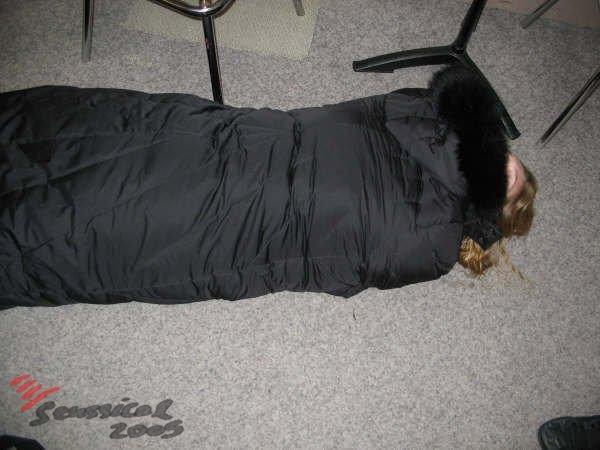 straight jacket...?