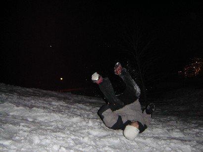 backflip 180 to land on head
