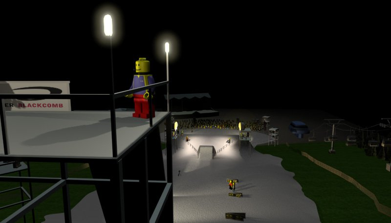 test shot from my thesis -lego skiing invitational-