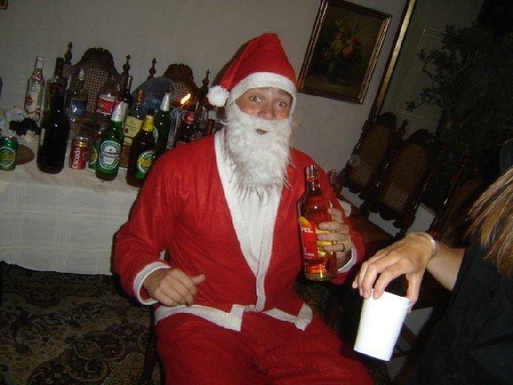 Santa Likes Pisco...Yum