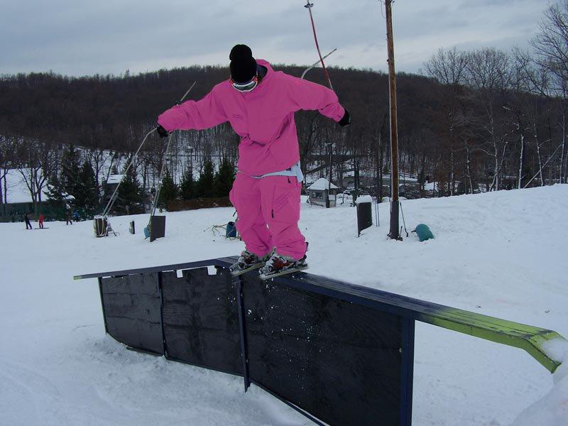Pink Railing