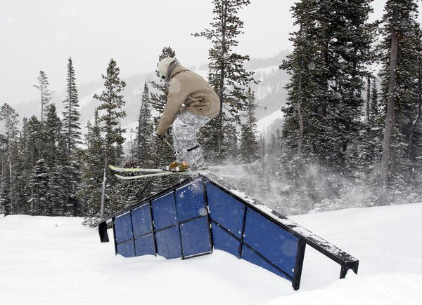 Kink rail @ big sky