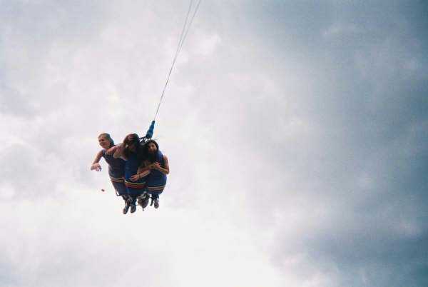 bungy jumping! WUT!