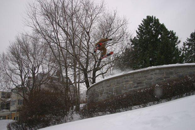 Jump Over Ledge 1