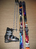 My skis/poles/boots