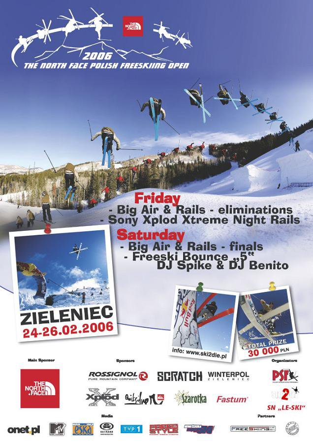 THE NORTH FACE POLISH FREESKIING OPEN 2006