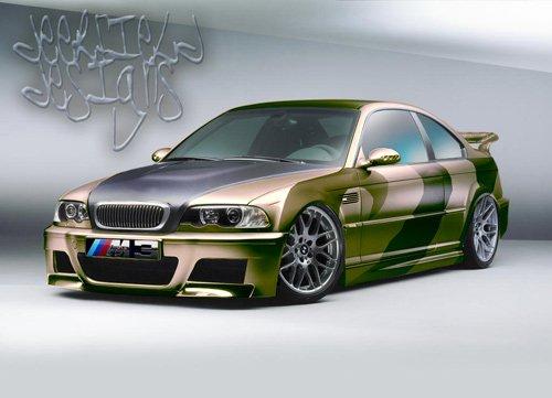 BMW m3 digital art