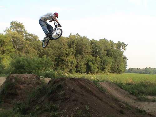 bmx xup at my trails