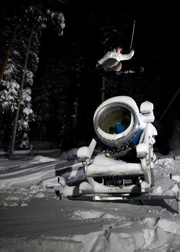 180 Over SnowMachine