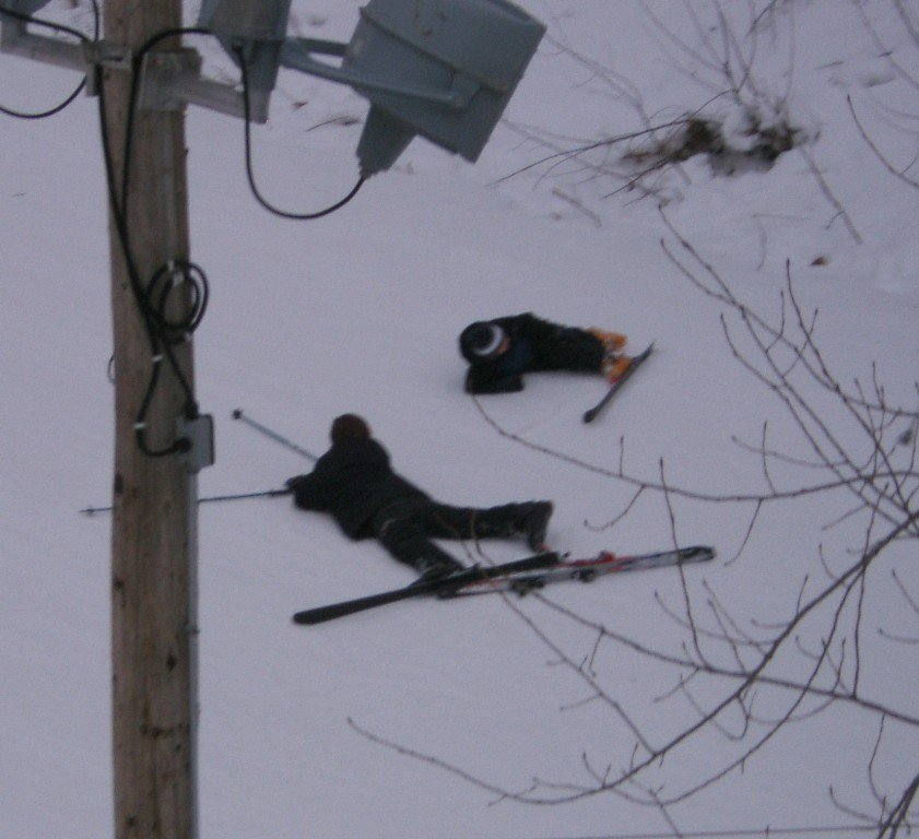 Another Yardsale off a chairlift