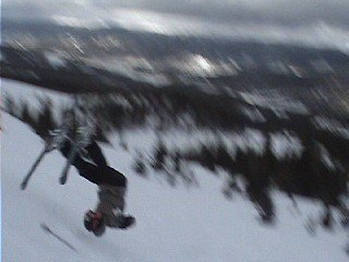 First backflip attempt to death