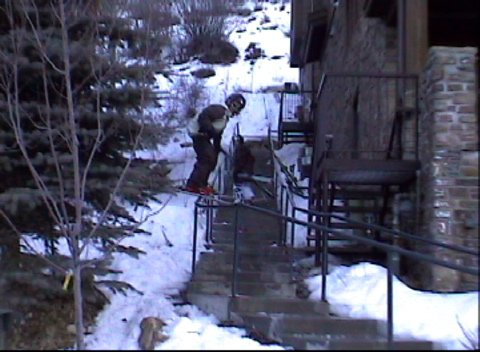 Joss Christensen on a SIICk urban (video in edits/shorts and rails sections)