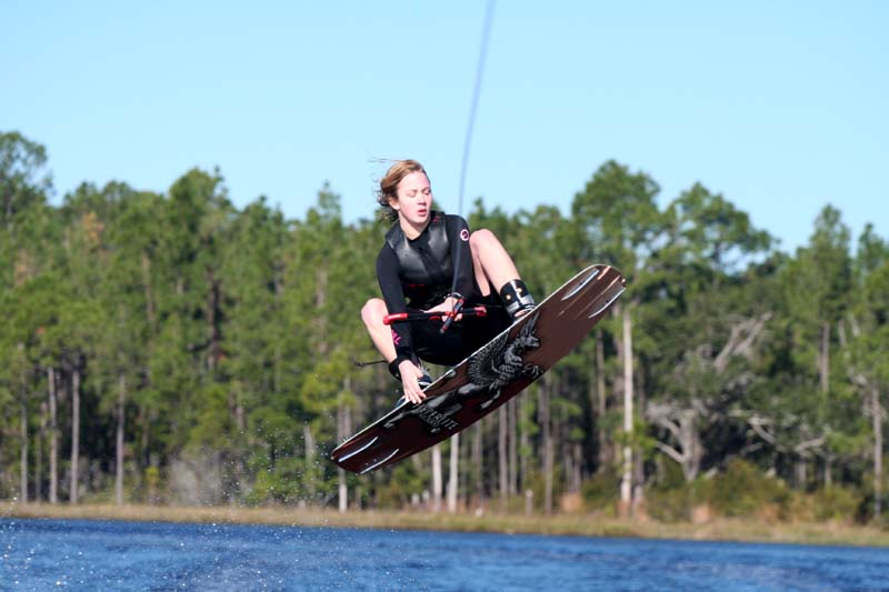Christmas Wakeboarding
