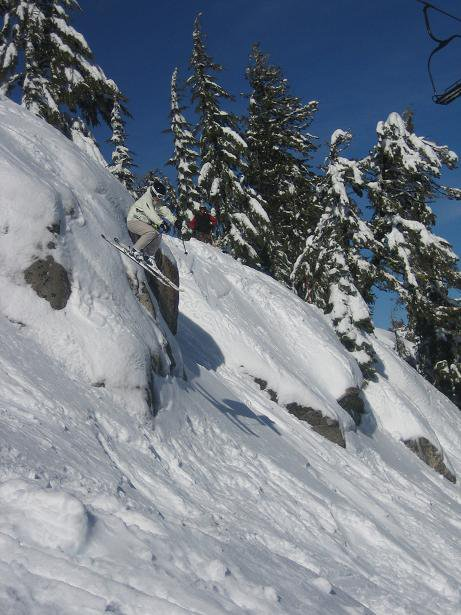 A little drop at Squaw