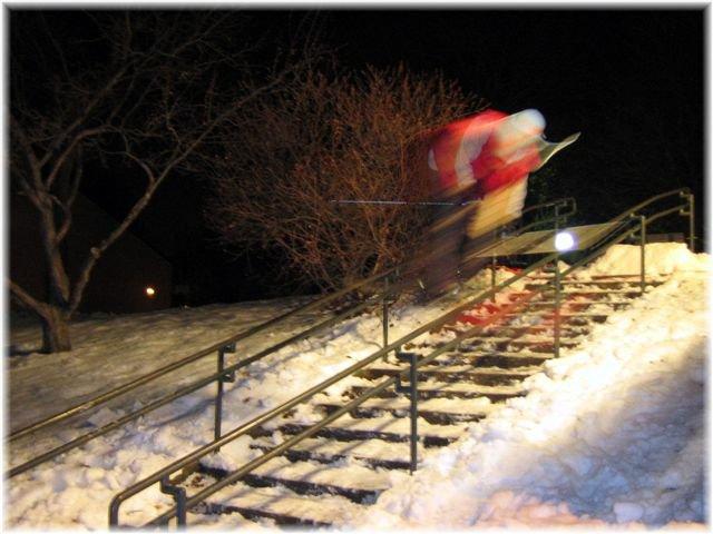 URBAN down rail (Blur)