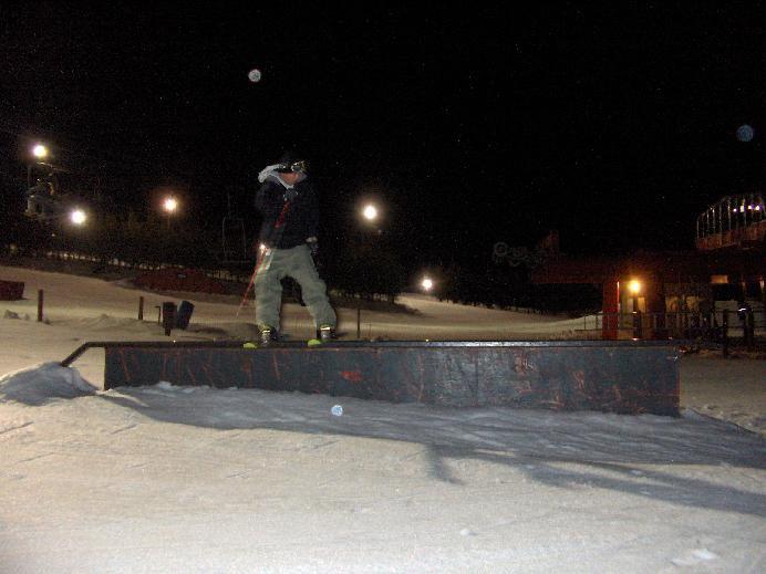 awesome fun on flat rail
