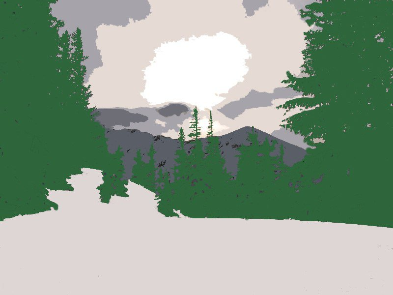 landscape in photoshop