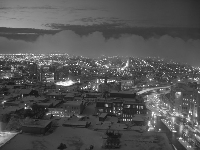 Quebec in Black and White