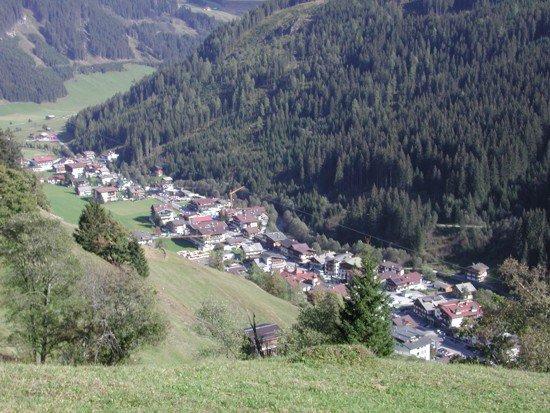 Village in Austria's Alps