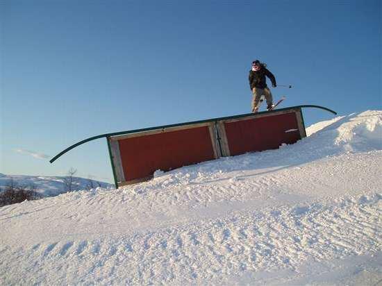 me, down rail