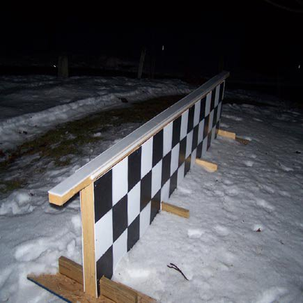 new backyard rail 1