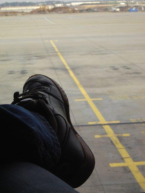 Foot like a runway