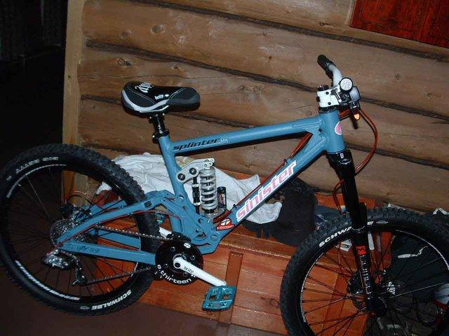 New Sinister Slope Style Bike