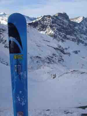 Swiss backcountry