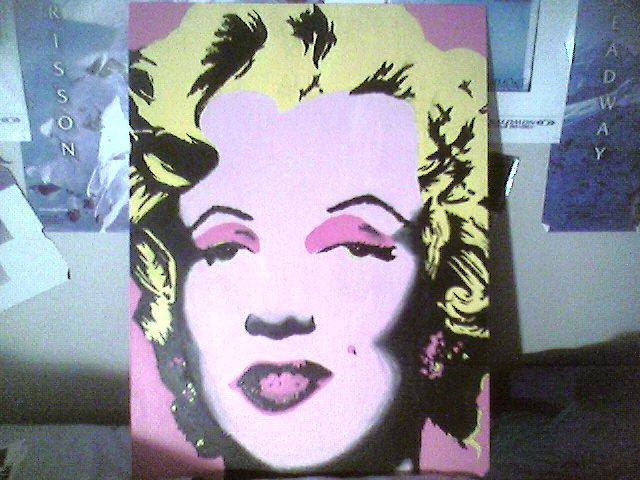 marlilyn monroe painting