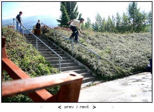 Handrail has 33 degrees in summer