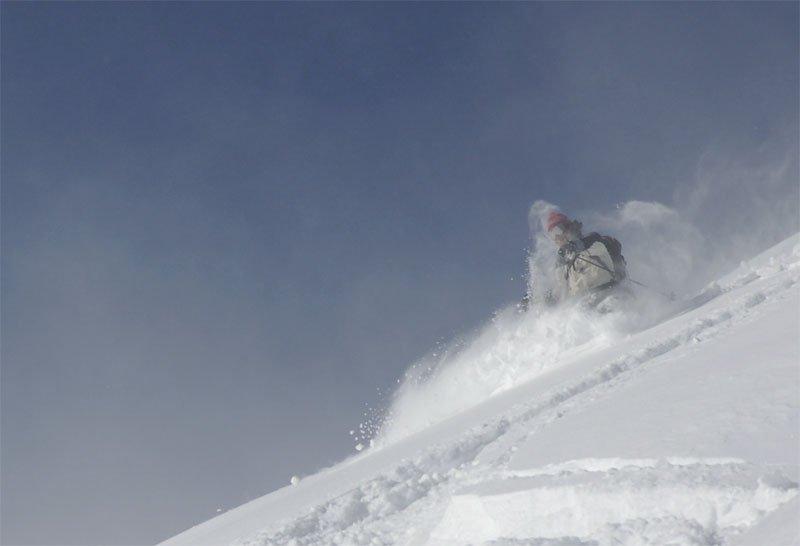 Powder ghost