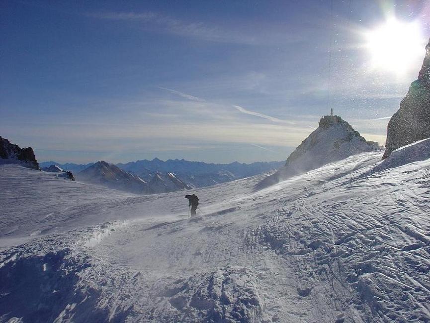 Glacier de Toul (1), French-Italian border