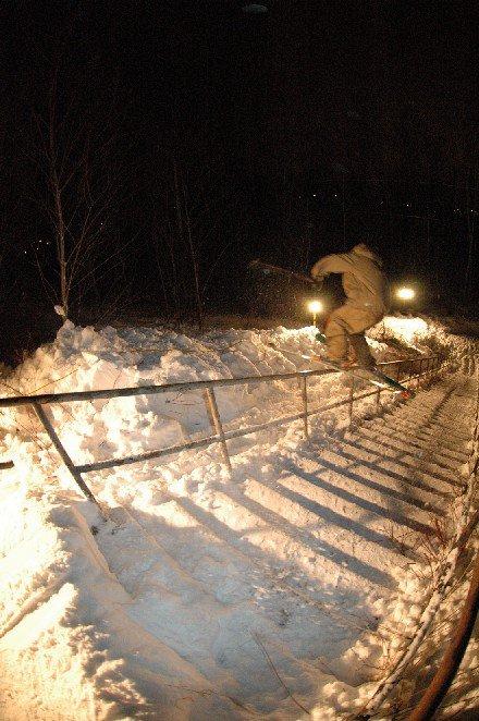 40 step handrail