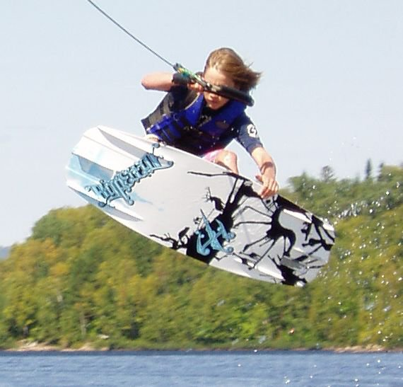 Wakeboarding indy