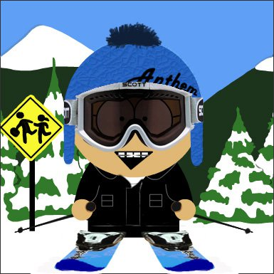 Me as a Southpark character