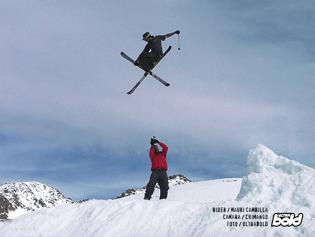 argentinian skier.(huge mute)