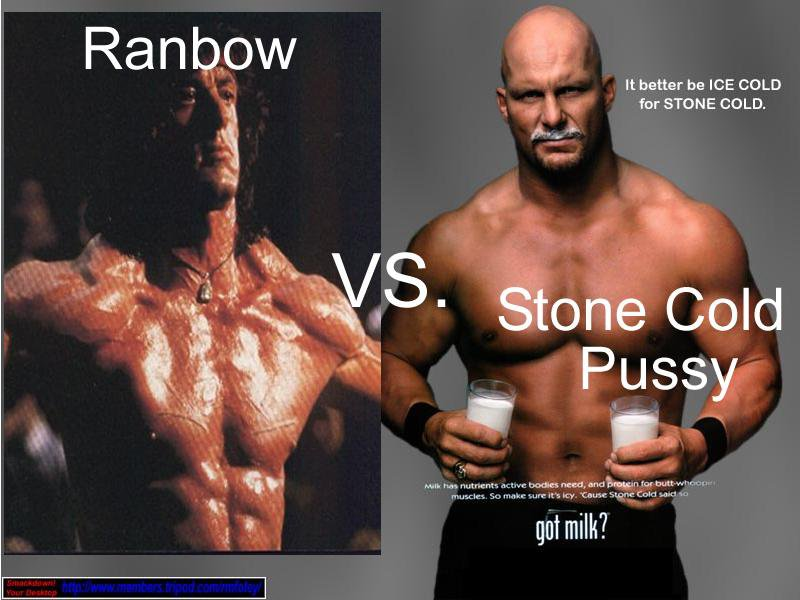 Ranbow vs. Stone Cold