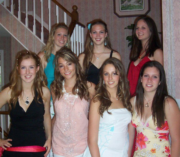 me and the girls b4 banquet