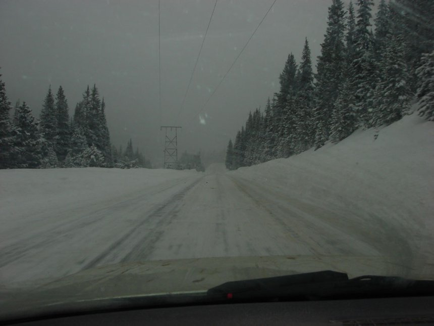 Driving Conditions That Would Make Any Skier Happy