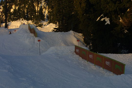 2 of the 3 rails at seymour
