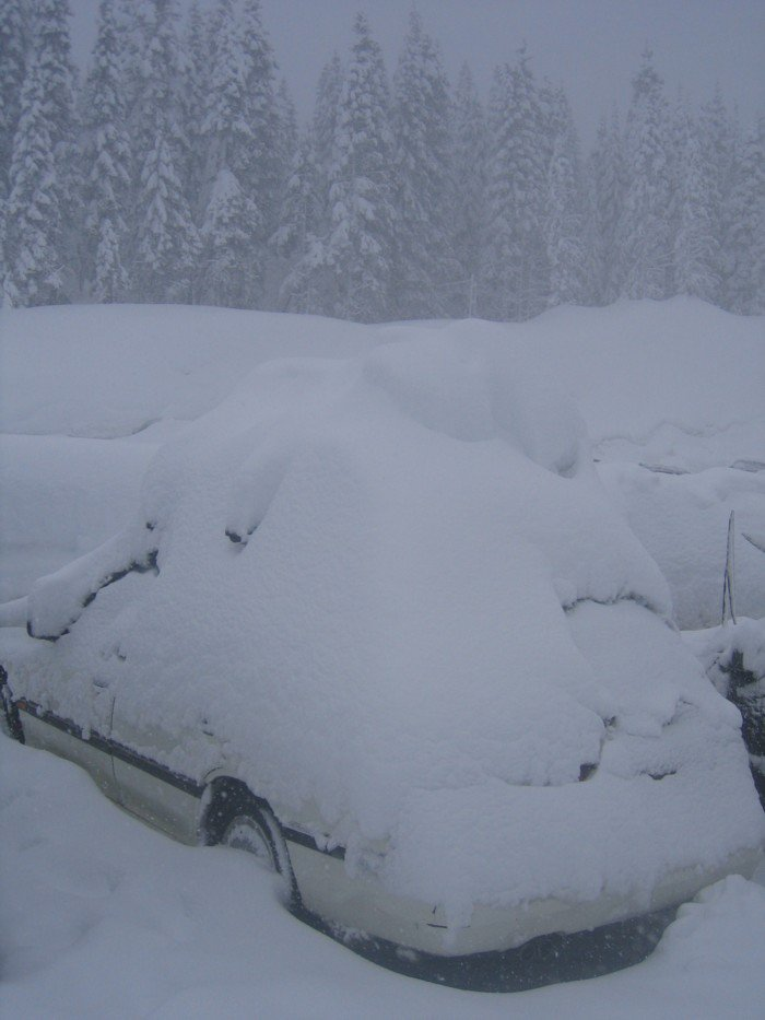PNW 2006    holy snow