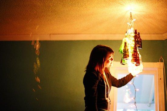 chandelier & light