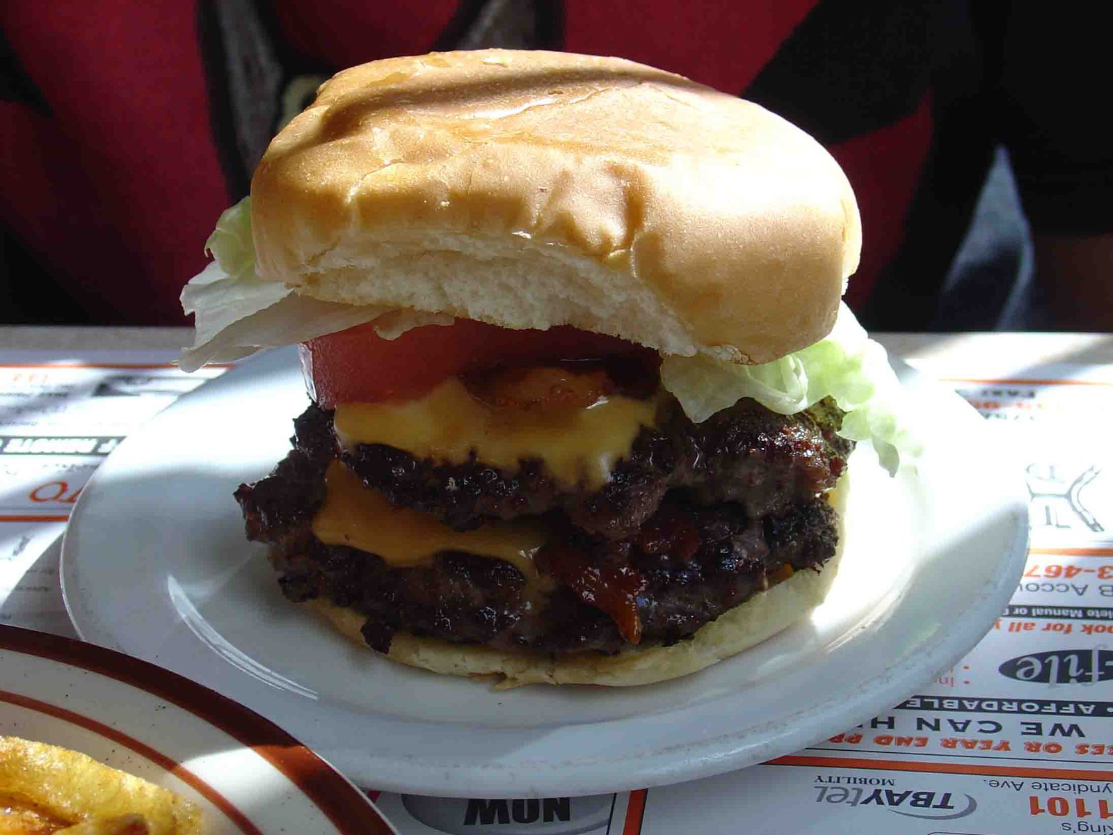 Now That's A Tasty Burger