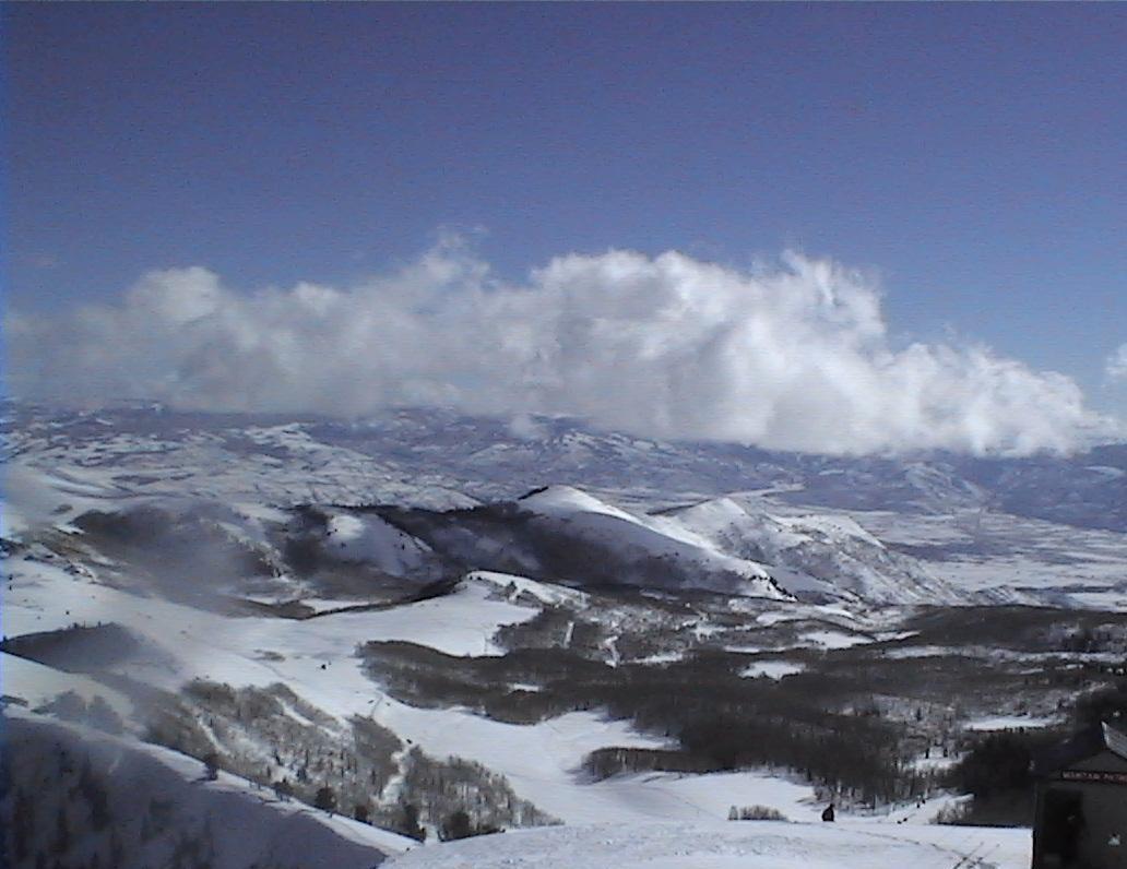 View from Jupiter Peak Park City